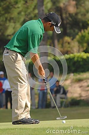 Campino高尔夫球nuno por 编辑类库存照片