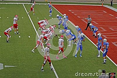 Campionato 2013 di football americano dell euro Immagine Editoriale