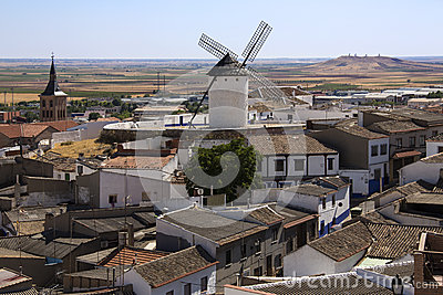 Campo de Criptana - La Mancha - Spain