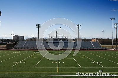 Quadra de Futebol Campo-de-futebol-da-high-school-thumb11714800