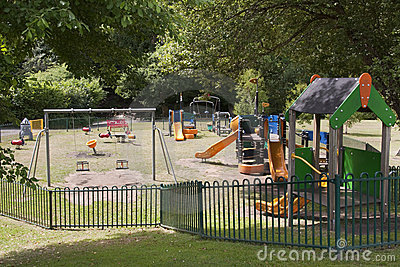 Campo de jogos das crianças