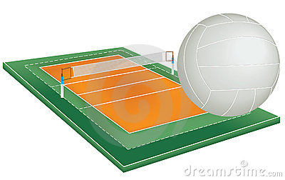 Campo do voleibol