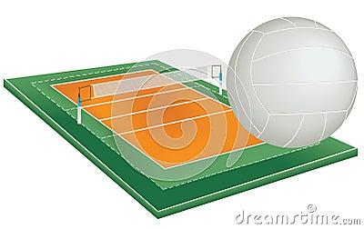 Campo do voleibol fotos de stock royalty free imagem - Campi da pallavolo gratis stampabili ...