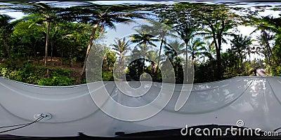 Campo en Asia Bali, Indonesia vr360 almacen de video