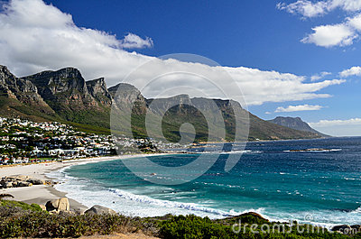 Camps Bay Beach, Western Cape, South Africa