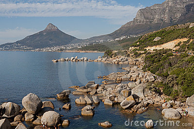 Camps Bay and Lions Head Cape Town South Africa