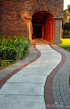 Free Campus Road Royalty Free Stock Photo - 6603305