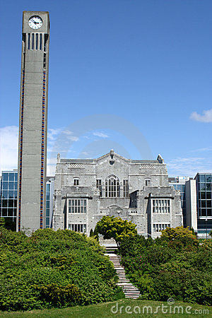 Campus, University of British Columbia Editorial Image