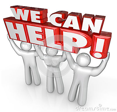 We Can Help Customer Service Support Helpers