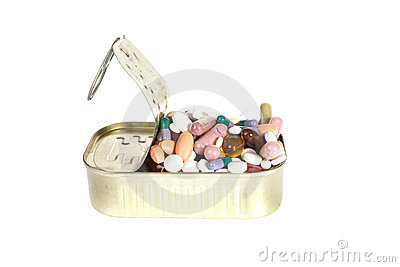 Can of pills