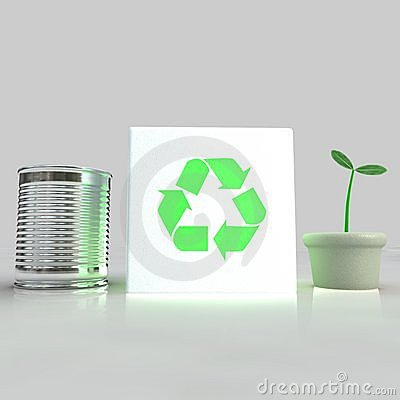 Can, Recycling, Plant