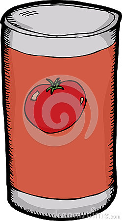 Can of Tomato Paste
