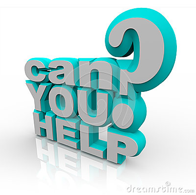 Free Can You Help Plea For Financial Volunteer Support Royalty Free Stock Photos - 31864898