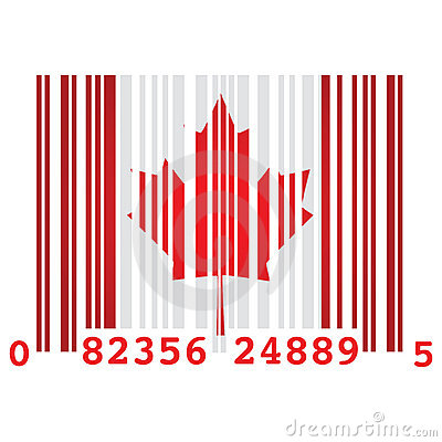 Canada bar code