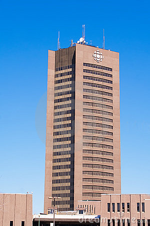 Canada Broadcasting House. Editorial Stock Image