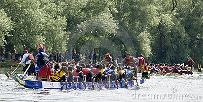 Canada Computers Dragon Boat racing Editorial Image