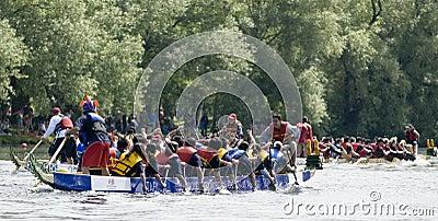 Canada Computers Dragon Boat racing Editorial Image