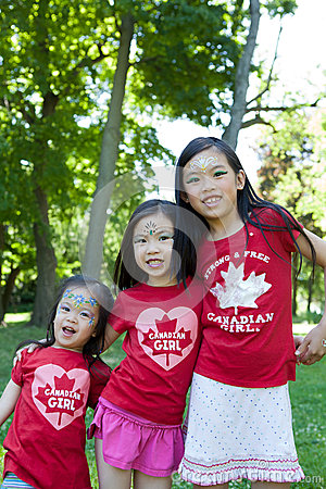 Canada Day Celebration Editorial Photography