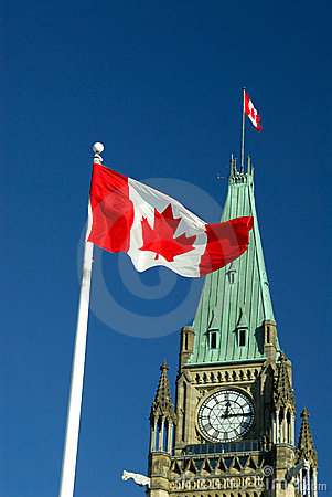 Free Canada Flag Stock Photography - 3864692
