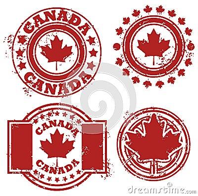 Canada Flag Stamp