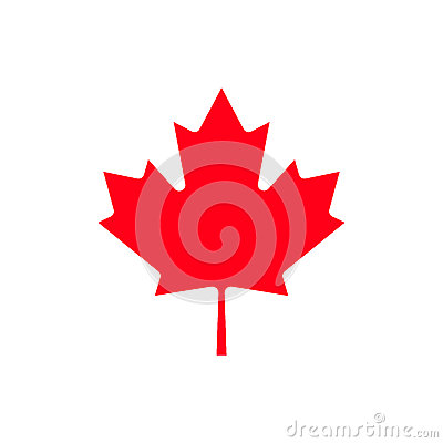 Free Canada Maple Leaf Icon. Royalty Free Stock Photography - 93156397