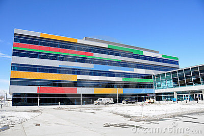 Canada Olympic Park offices Editorial Stock Photo