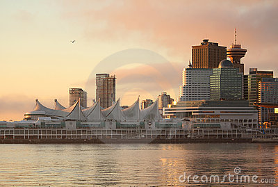 Canada Place Dawn, Vancouver