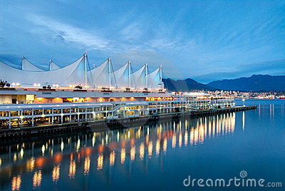 Canada Place at Dusk