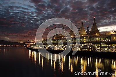 Canada Place, Sunrise