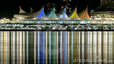 Canada Place Vancouver Editorial Image