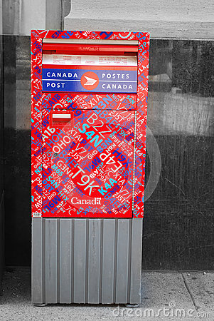 Canada post Editorial Image