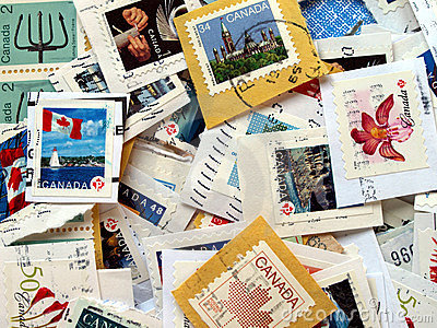 Canada postage stamps
