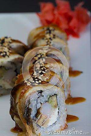 Canada sushi roll