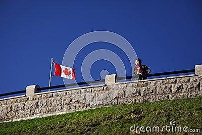 Canada tourist
