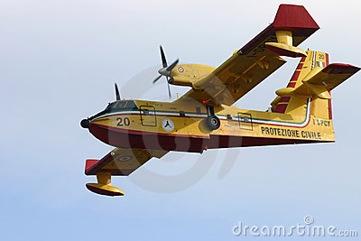 Canadair CL-415 Editorial Photo