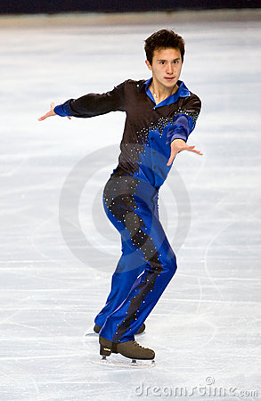 Canadas s Patrick Chan Editorial Photo