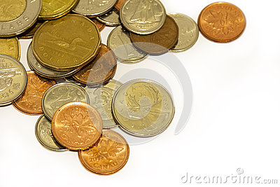 Canadian Coins Editorial Image