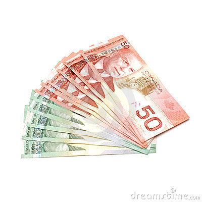 Free Canadian Currency Royalty Free Stock Image - 23387776