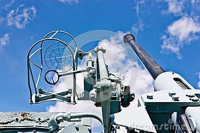 Canadian Destroyer Anti Aircraft Gun
