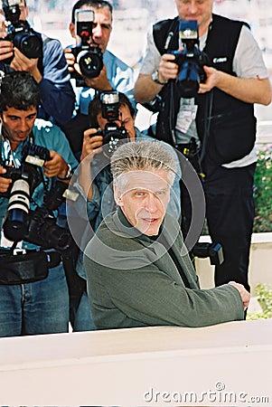 Canadian director David Cronenberg Editorial Photography