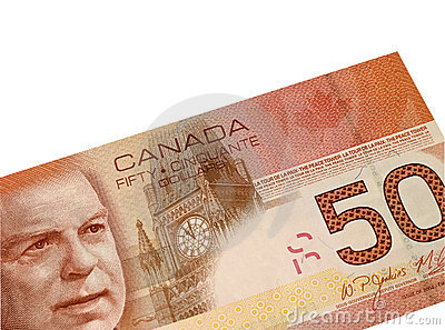 Canadian Fifty Dollar Bill