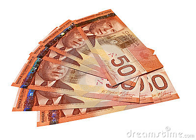 Canadian Fifty Dollar Bills