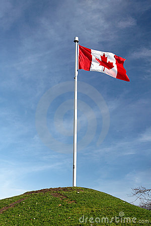 Free Canadian Flag Royalty Free Stock Photography - 1925747
