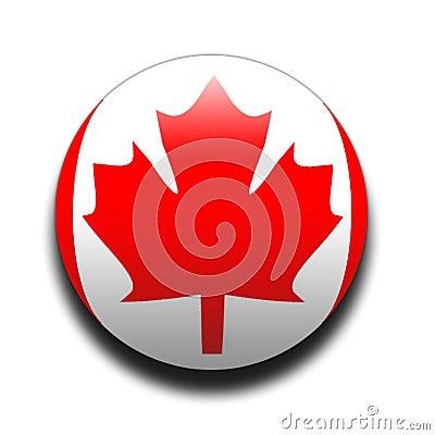 Free Canadian Flag Royalty Free Stock Image - 63486