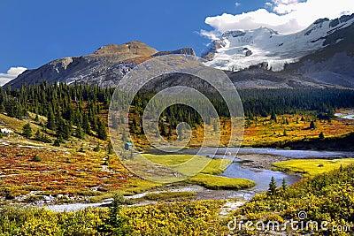 Canadian Landscape Mountains, Autumn Colors