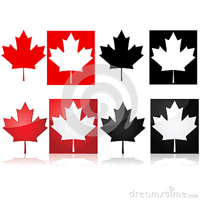 Free Canadian Maple Leaf Stock Image - 36981181