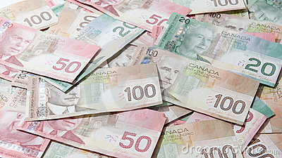 Canadian Money Royalty Free Stock Image - Image: 21571956