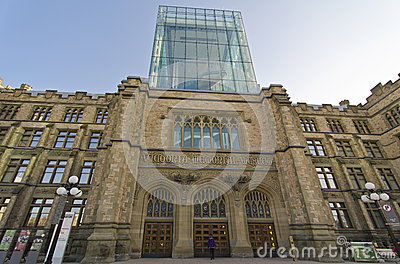 The Canadian Museum of Nature, Ottawa Canada Editorial Photography