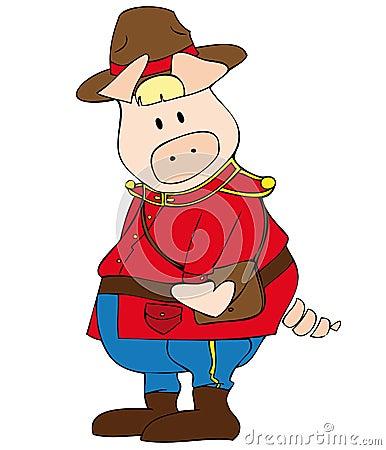 Canadian Ranger Pig.