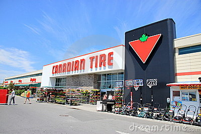 Canadian Tire Editorial Photography
